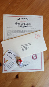 Santa's / Father Christmas /Mrs Claus Letter