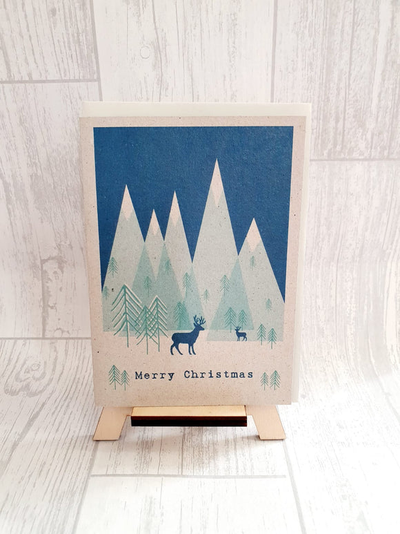 East Of India - Winter Land - Reindeer Card