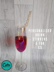 **Fiver Friday** Drink Stirrers