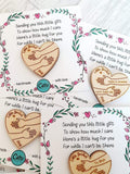 Little Pocket Hugs - 5cm 'we' version cards