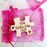 TENNER for 8 Bridal Party Keyrings