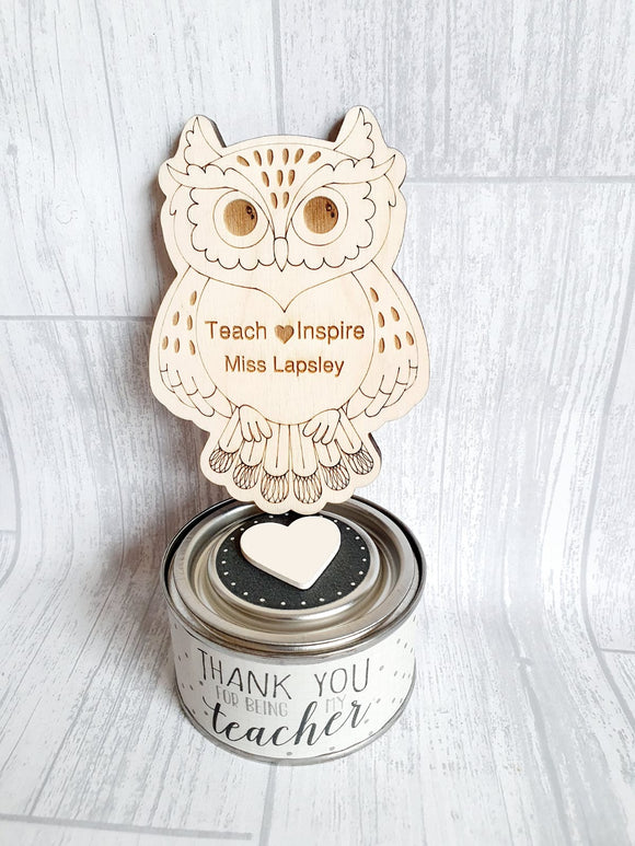 Gift Set - Thank You Wise Owl