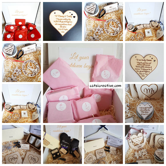 7 day Countdown Wedding Box - LARGE box