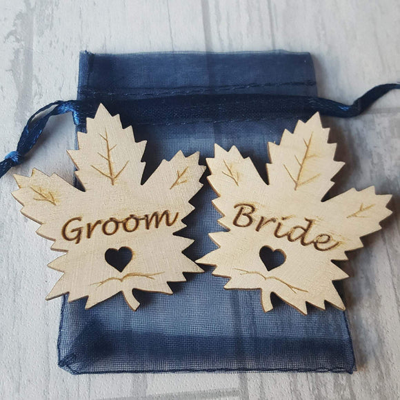 maple leaf, Autumn leaf, wedding favours