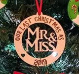Our Last Christmas as Mr/Miss - Miss/Miss and Mr/Mr