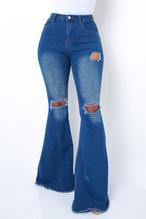 Bella Bottom Jeans Dark