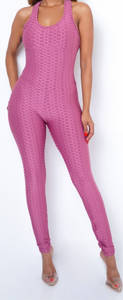 Hot Girl Jumpsuit (Pink)