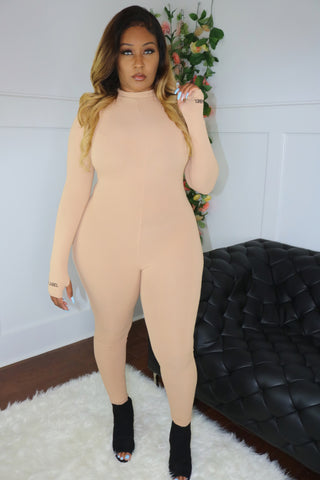 Lucky Jumpsuit (Camel)