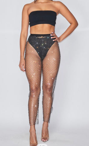 Jewel Net Pants