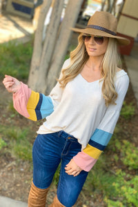 TALK ABOUT FUN TUNIC TOP-CREAM - Infinity Raine