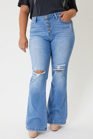 Give Into You Plus Size Jeans - Infinity Raine