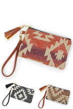 Load image into Gallery viewer, LIVING THE WESTERN LIFE POUCH BAG- SUNSET RED - Infinity Raine