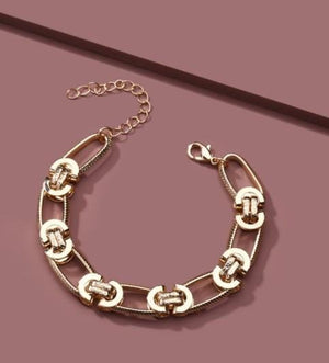 CHAINED IN LOVE CHUNKY BRACELET - Infinity Raine