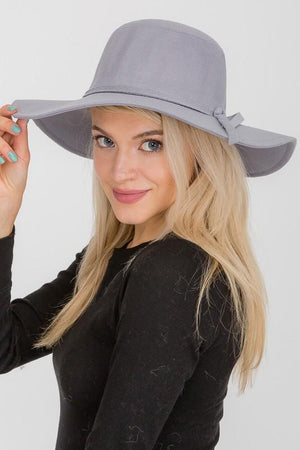 ALL ON TRACK FLOPPY HAT-GRAY - Infinity Raine