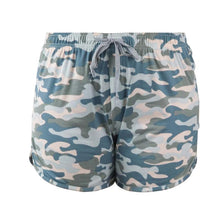 Load image into Gallery viewer, HELLO MELLO SWEET ESCAPE PJ LOUNGE SHORTS-CAMO - Infinity Raine