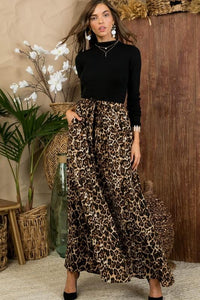 THE LEOPARD MAXI SKIRT - Infinity Raine