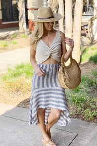 SWEET AND FLIRTY HIGH-LOW SKIRT - Infinity Raine