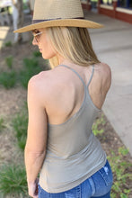 Load image into Gallery viewer, SUN DANCER RAZOR BACK CAMI-SAGE - Infinity Raine