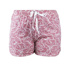 Load image into Gallery viewer, HELLO MELLO SWEET ESCAPE PJ LOUNGE SHORTS- WHITE/PINK FLORAL - Infinity Raine