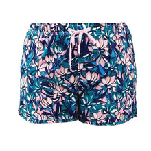 Load image into Gallery viewer, HELLO MELLO SWEET ESCAPE PJ LOUNGE SHORTS-GREEN/PINK FLORAL - Infinity Raine
