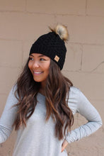 Load image into Gallery viewer, LOOKING FOR THE COZY BEANIE-BLACK - Infinity Raine