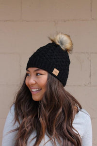 LOOKING FOR THE COZY BEANIE-BLACK - Infinity Raine
