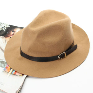 THE FEDORA HAT-CAMEL - Infinity Raine