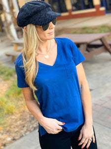 WON'T LET YOU DOWN V-NECK TOP - Infinity Raine