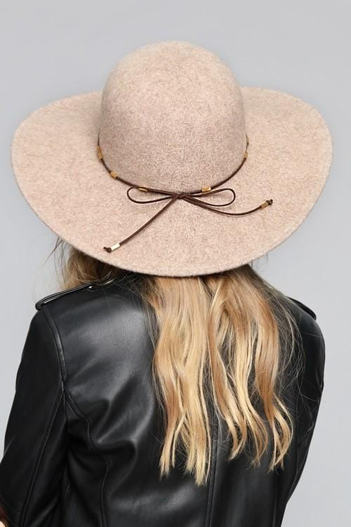 DREAMING OF THIS HAT-OATMEAL/MAUVE/BLACK - Infinity Raine