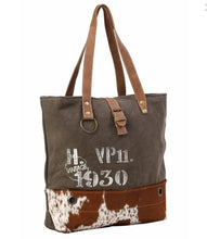 Load image into Gallery viewer, VINTAGE 1930 CANVAS TOTE BAG - Infinity Raine