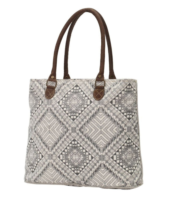 ARTISAN CANVAS TOTE BAG - Infinity Raine
