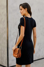 Load image into Gallery viewer, EFFORTLESSLY EASY DRESS-BLACK - Infinity Raine