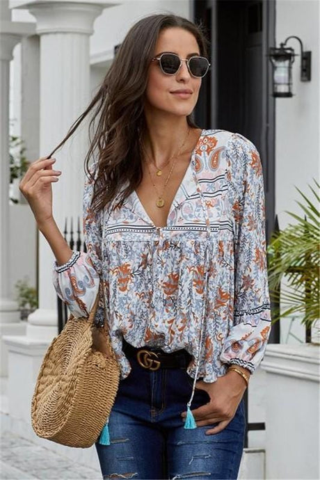 BEAUTIFUL DISTRACTION FLORAL TOP - Infinity Raine