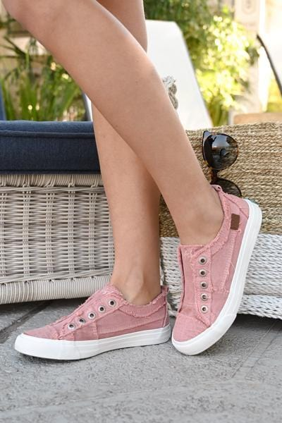 WHEREVER YOU GO SNEAKERS-ROSE - Infinity Raine