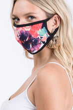 Load image into Gallery viewer, KEEP IT COVERED FACE MASK-NAVY FLORAL - Infinity Raine