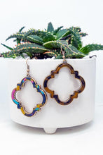 Load image into Gallery viewer, CHIC CHOICES FLORAL TORTOISE EARRINGS - Infinity Raine