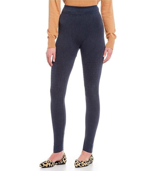 NEED FOR SPEED MOTO LEGGINGS-WASHED INDIGO - Infinity Raine