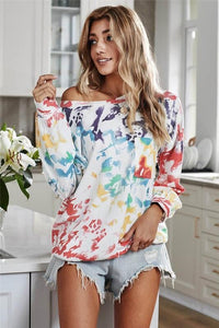 JUST SWEET ENOUGH TIE DYE PULLOVER SWEATSHIRT - Infinity Raine