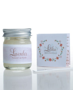 LATIKA EDIBLE SUGAR LIP SCRUB- HONEY/VANILLA/LAVENDER - Infinity Raine