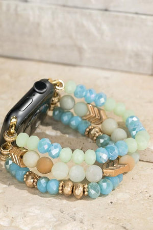 Drama In The Details Apple Watch Bracelet-Amazonite - Infinity Raine