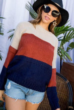 Load image into Gallery viewer, IS FALL HERE YET KNIT SWEATER- MUTLI - Infinity Raine