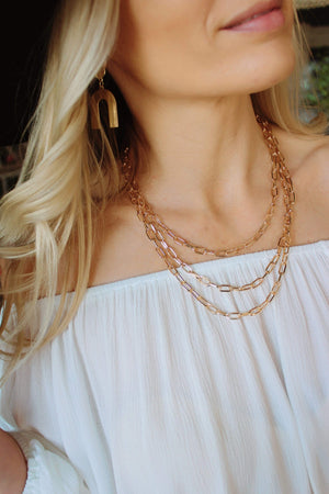 Lovely Layers Chain Necklace - Infinity Raine