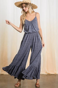 YOU FOUND ME JUMPSUIT-NAVY - Infinity Raine
