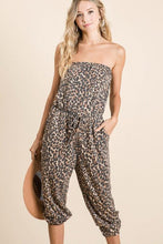 Load image into Gallery viewer, CAN'T HOLD ME BACK JUMPSUIT- LEOPARD - Infinity Raine