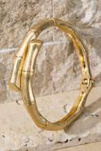 Load image into Gallery viewer, ON THE SCENE BAMBOO BRACELET-GOLD/SILVER - Infinity Raine
