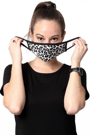KEEP IT COVERED FACE MASK-ANIMAL PRINT MULIT - Infinity Raine