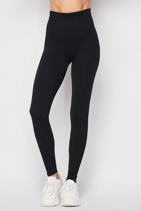 HIT THE GROUND RUNNING LEGGINGS-BLACK - Infinity Raine