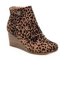 BLOWFISH LEOPARD ZIPPER BOOTIE - Infinity Raine