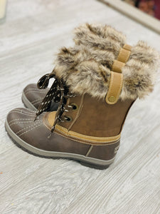LONDON FOG WINTER THREADS BOOTS-COGNAC BROWN - Infinity Raine