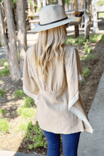 Load image into Gallery viewer, SIMPLE AND EASY DRAWSTRING TUNIC-LATTE - Infinity Raine